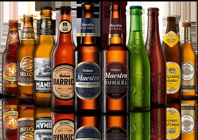 Cervezas, botellines