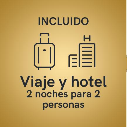 Premio viaje y hotel