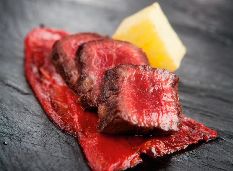 Maridaje Grimbergen tostada - carne asada o parrilla