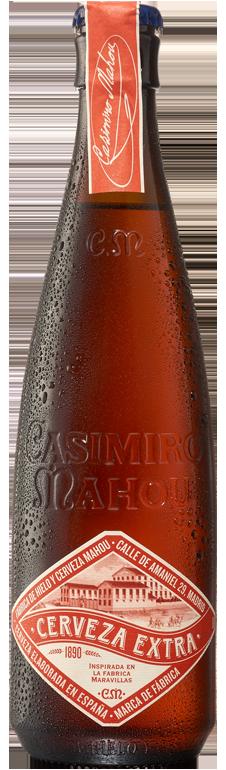 Casimiro Mahou Cerveza Extra