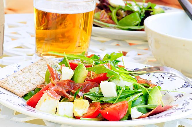 Maridar con cerveza en verano