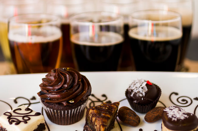 Cervezas negras y chocolate, un mix muy agradable para el Cervecista