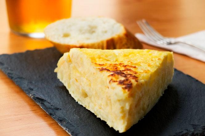 Tortilla de patatas y cervezas especiales: El súmmum de los pinchos