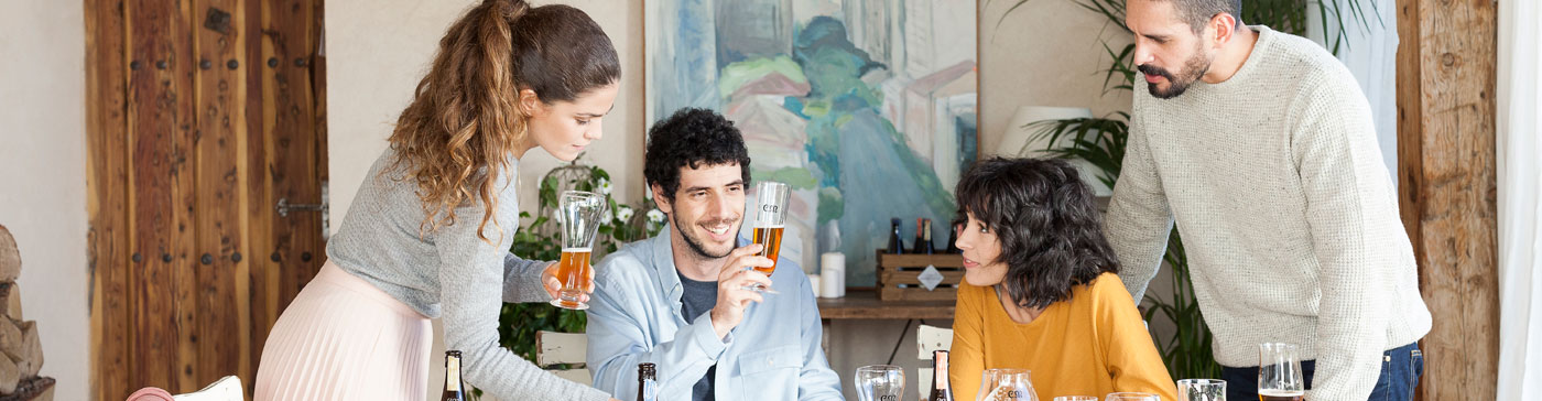 La cerveza, bebida gourmet de moda