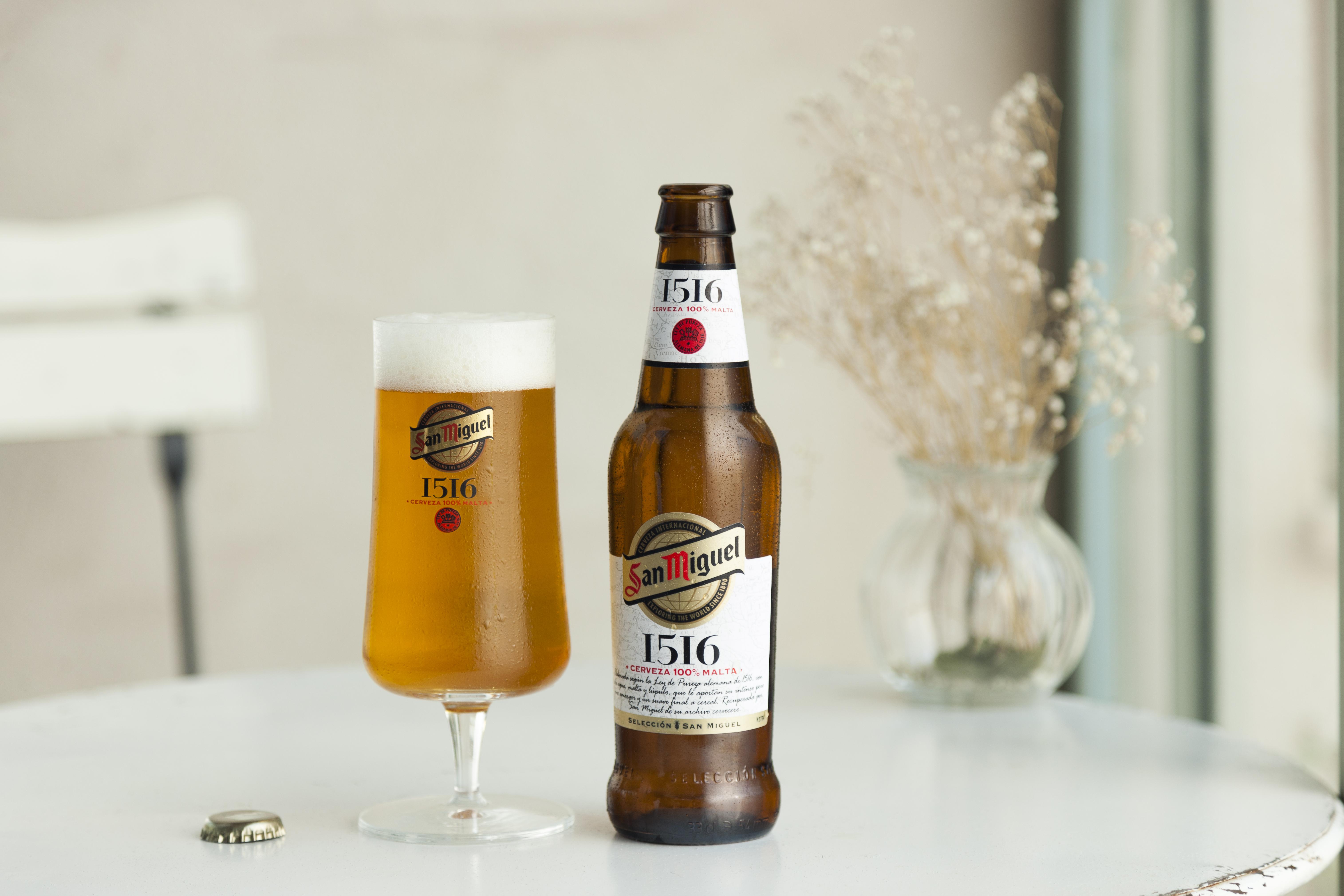 San Miguel 1516, cerveza 1516, cerveza San Miguel, ley de la pureza alemana