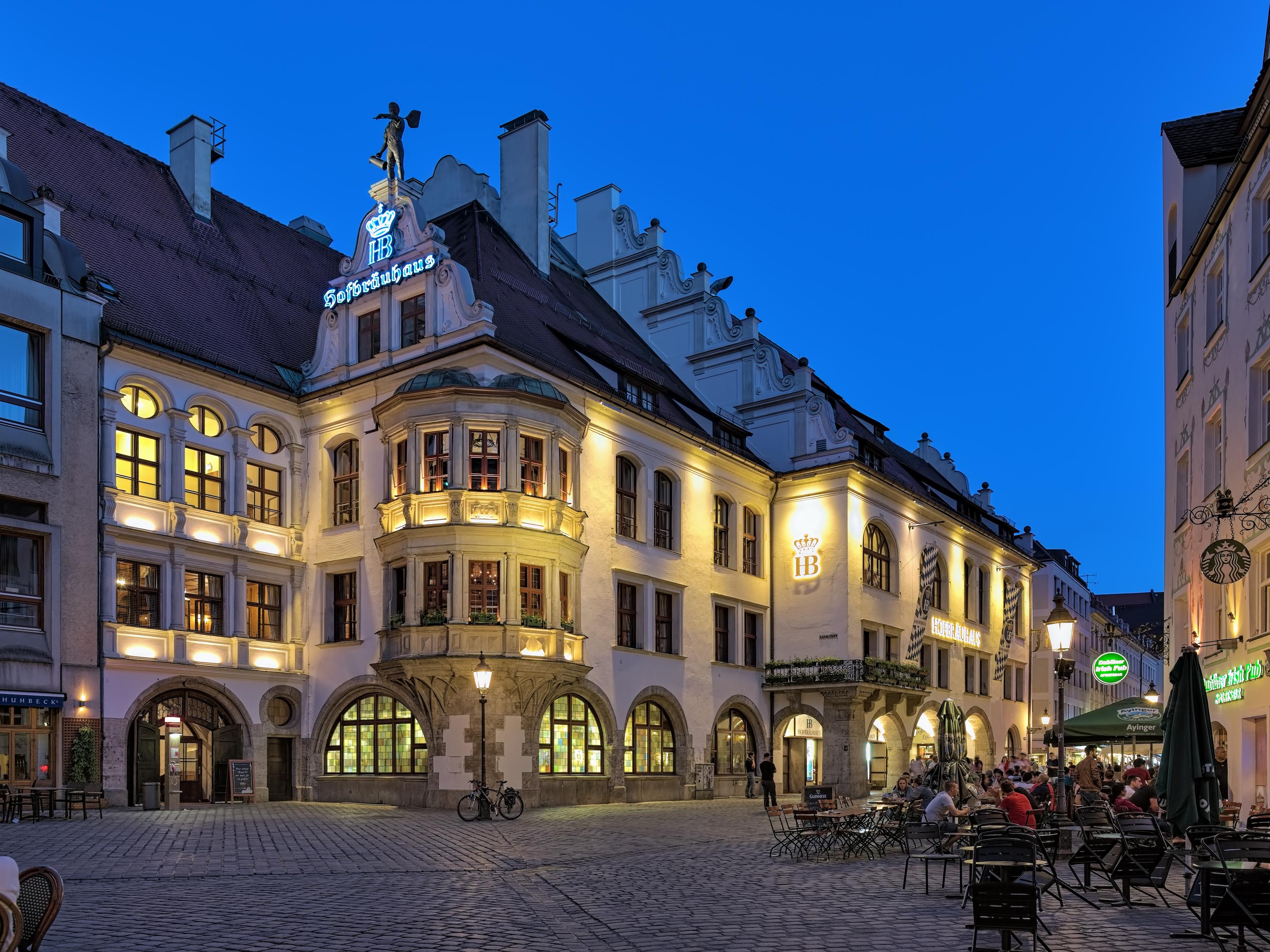 Hofbräuhaus am Platzl, el icono de la cerveza en Munich
