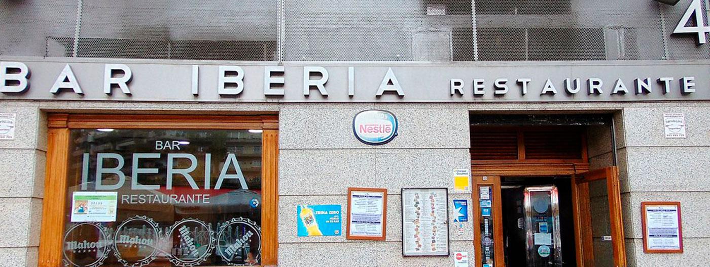 Bar restaurante Iberia