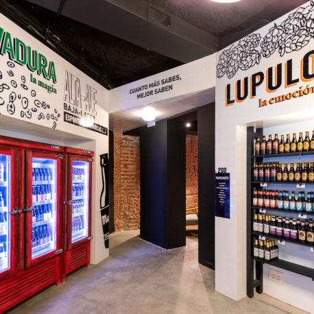 3709 tienda de cervezas internacionales en Madrid