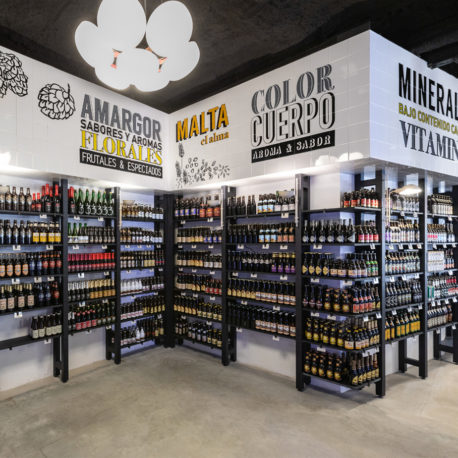 3713 tienda de cervezas en Madrid