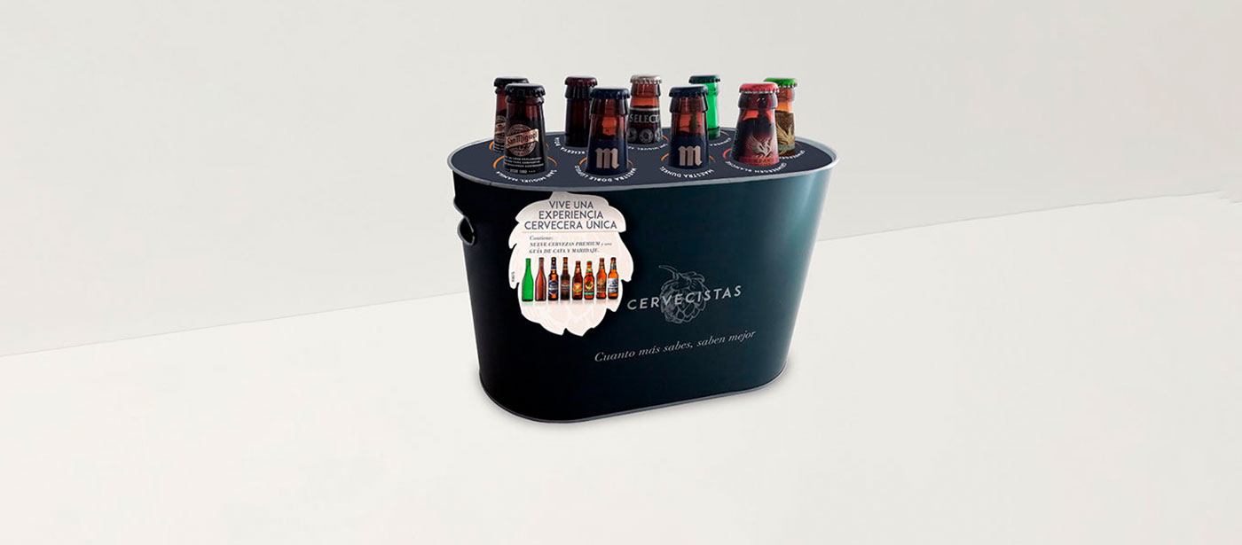 Descubre nuestra cubitera Cervecistas